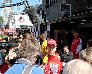 Sebastian Vettel UPS 06