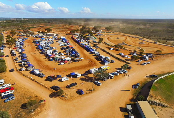 Over the Enduro at Riverland MotoX track