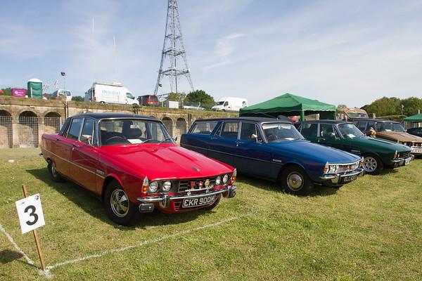 1972 Rover 3500 S / 1974 Rover P6 3500 Estoura