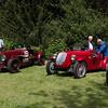 1934 - Aston Martin and 1938 - Fiat 508C TT