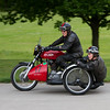 Gilera motorbike and Sidecar