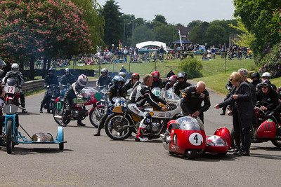 Classic Motorcycle Grid