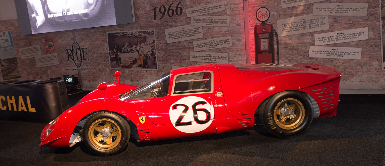 Ford-Ferrari Exhibition at 2015 Le Mans 24 Hours