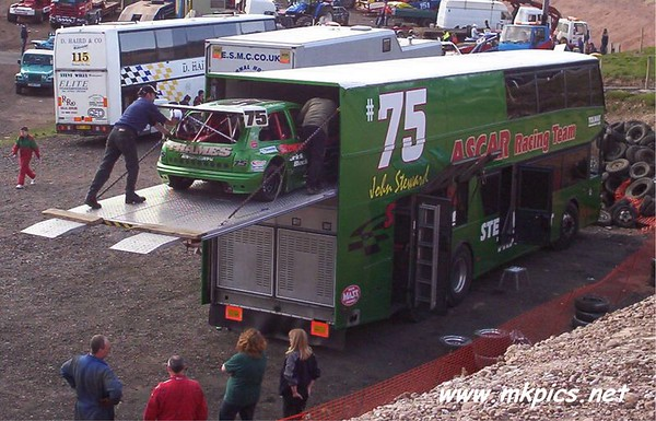 2005 English world Series, Hednesford Hills Raceway 10th April 2005