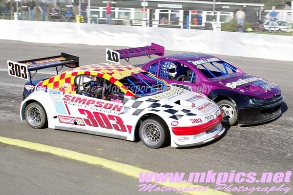 National Hot Rod 2012 English World Series round 9, Northampton International Raceway, 11 March 2012