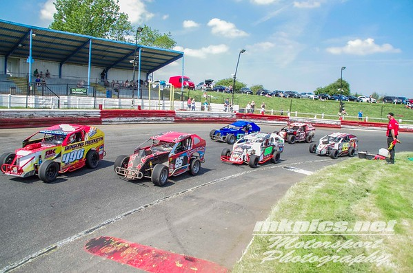 UK Modifieds, I Factor, Hednesford, 20 May