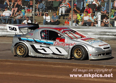 2Ltr Hot Rods British Championship, Foxhall Raceway, 5 & 6 July