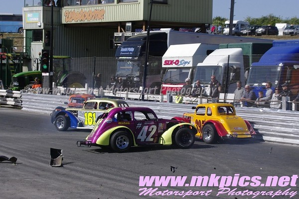 Oval Track Legends, Hednesford Hills Raceway, 2 May 2011