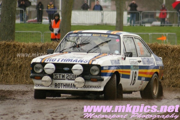 Race Retro Show - the Rally Stage - Stonleigh Park, 27 Feb 2011