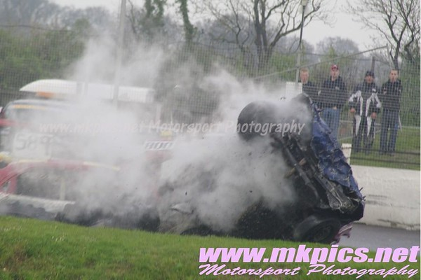 2L Bangers World Qualifier, Northampton International Raceway, 29 april 2012