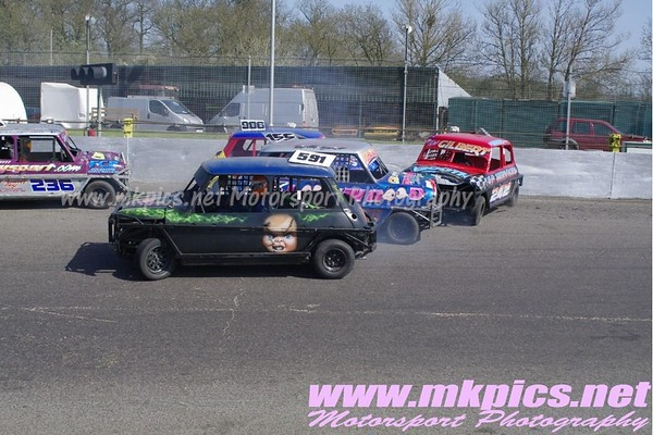 ORCi Ministox from Northampton International Raceway, 1 April 2012 NIR