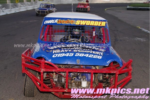 National Ministox, Northampton International Raceway, 18 August 2012