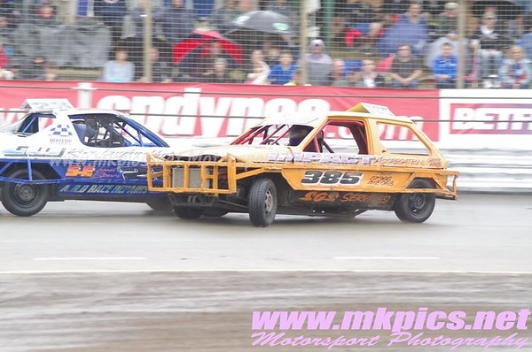 1300 Saloon Stock Cars, Ipswich spedeweekend, 5 & 6 July 2014