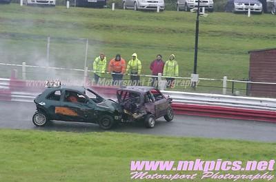 Micro Bangers, Hednesford Hills Raceway, 25 August 2014