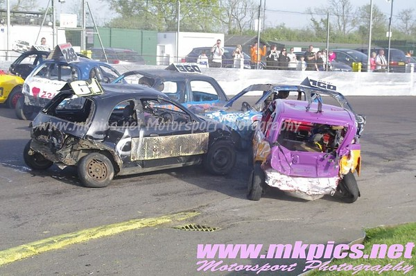 National Micro Bangers, Northampton, 4 May 2014