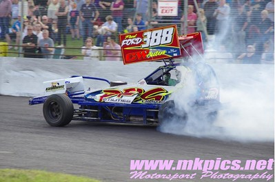 BriSCA F1 Stockcars Euro Weekend Saturday