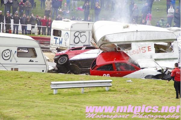 Caravans, Hednesford Hills Raceway 2 May 2016