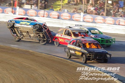 1300 Saloon Stock Cars, Ipswich Spedeweekend