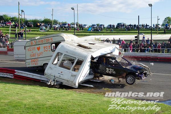 Caravan Racing, Hednesford Hills Raceway, 1 May 2017