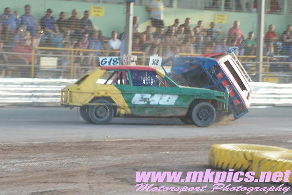1300 Stock Car Supreme Championship from the Ipswich Spedeweekend, 4 & 5 July 2009