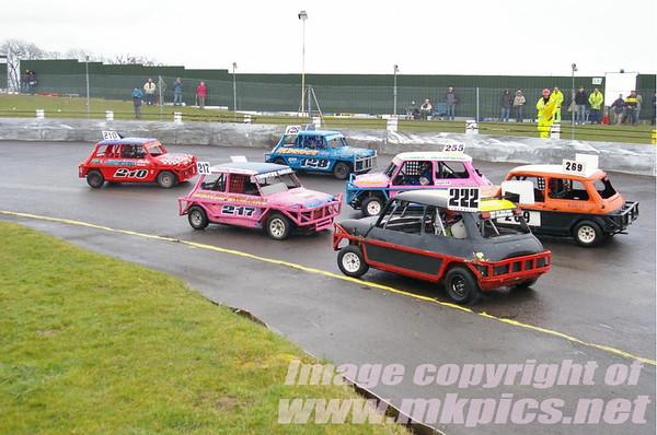 ORCi Ministox, Northampton International Raceway, 8 March 2009