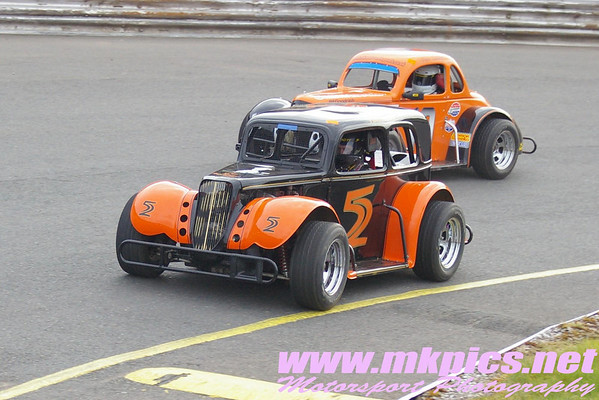 Oval Track Legends, Hednesford Hills Raceway, 15 March 2009