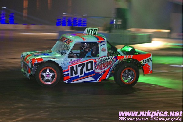 Autograss Cars at the Autosport Show, NEC