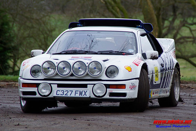 Race Retro 2017 Rally Stage
