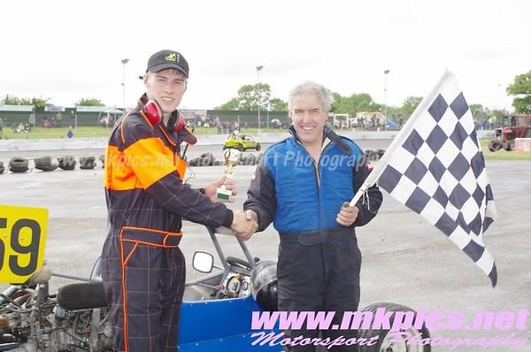 Grand Prix Midgets 2013 European Championship, Northampton, 16 June 2013