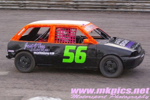 Incarods, Hot Rods, ORCI Ministox & Bangers, Birmingham Wheels, 1 January 2013