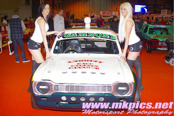 Oval Racing Show at Autosport International, NEC, 12 & 13 Jan 2012