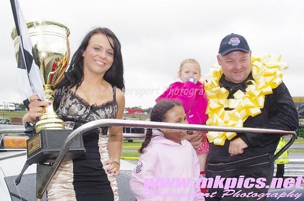 Oval Rack Legends National championship weekend, Hednesford Hills Raceway, 3 & 4 August 2013