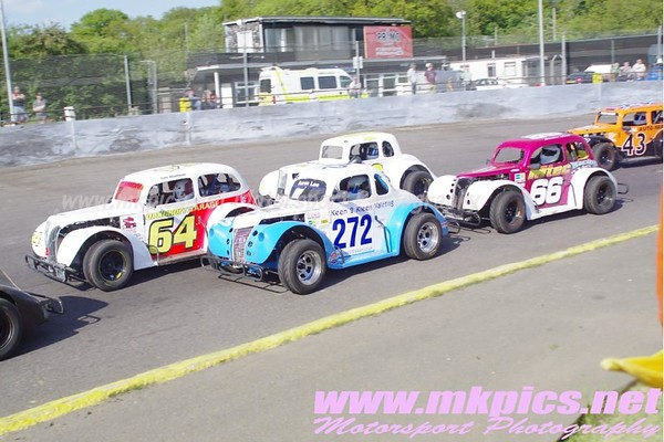 Oval Track Legends, Northampton 26 May 2013
