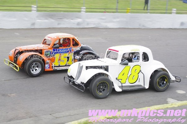 Oval Track Legends, Northampton 16 June 2013