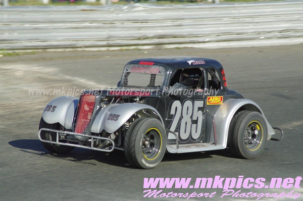 Oval Track Legends, Hednesford Hills Raceway, 6 May 2013