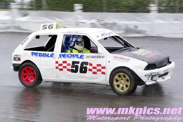 Incarods & Hot Fords, Northampton International Raceway, 23 September 2012