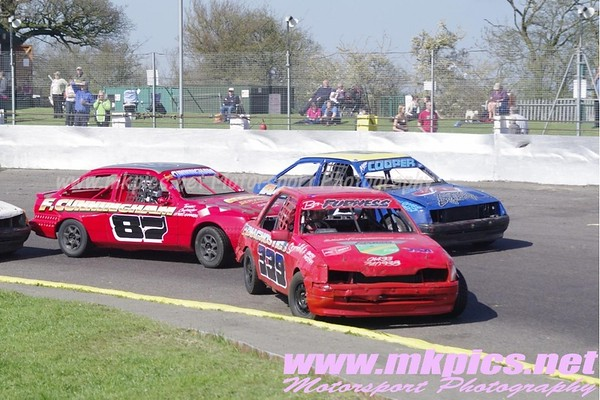 Lightning Rods, Northampton International Raceway, 1 April 2012