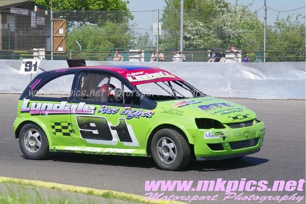 Stock Rods, Northampton International Raceway, 28 May 2012