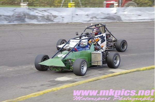 Grand Prix Midgets, Northampton 23 October