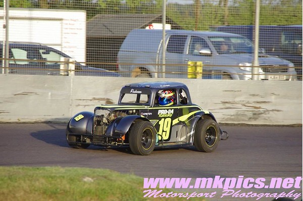 Oval Track Legends, Northampton 14 May