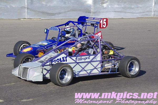 Grand Prix Midgets, Northampton, 16 March 2014