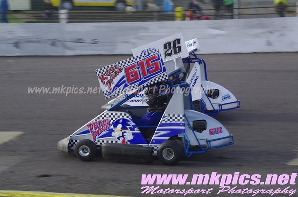 Ninja Karts, Northampton, 19 October 2014