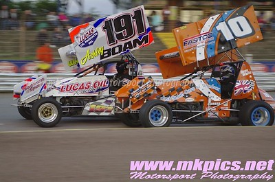 UK Sprint Cars, Ipswich 16 August 2014