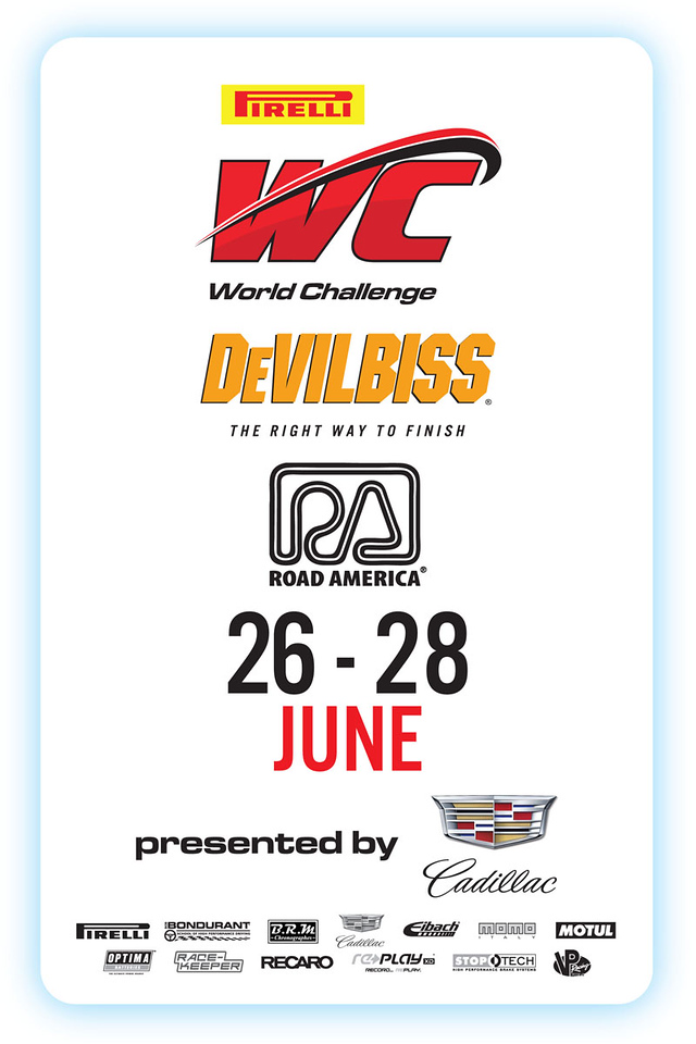 Event Poster for the  PIRELLI WORLD CHALLENGE