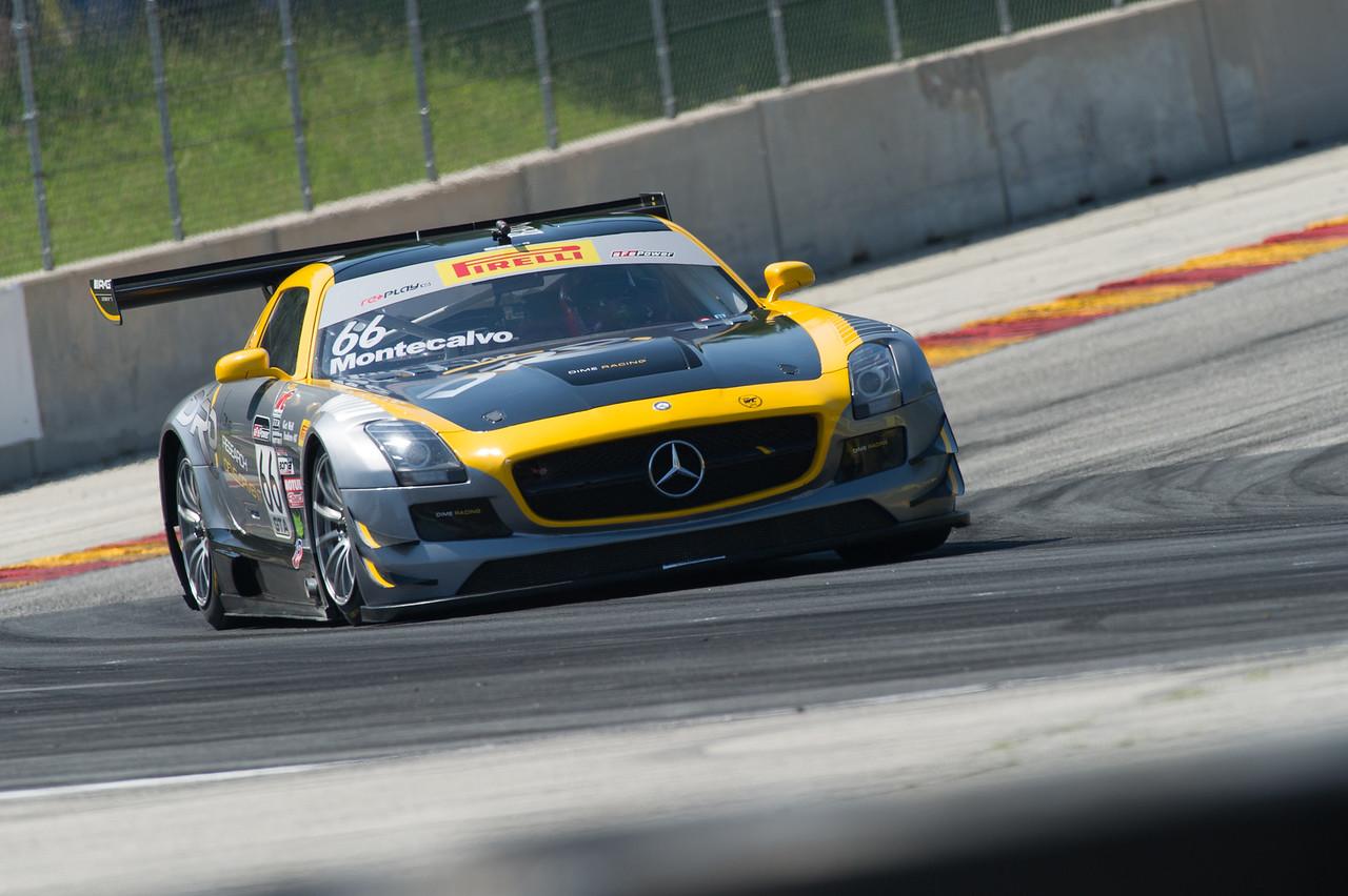 Frankie Montecalvo DIME Racing Mercedes AMG SLS GT3