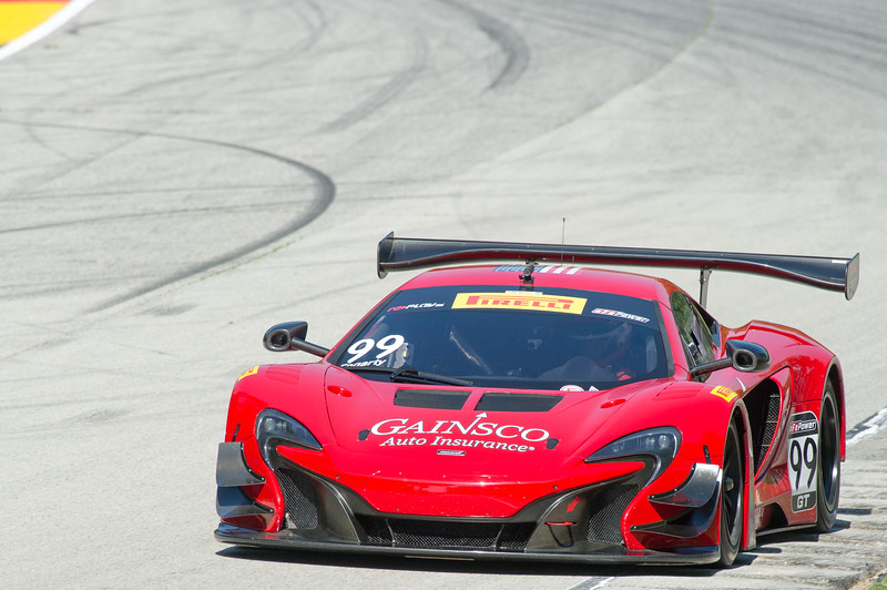 Jon Fogarty  Gainsco/Bob Stallings Racing McLaren 650S GT3