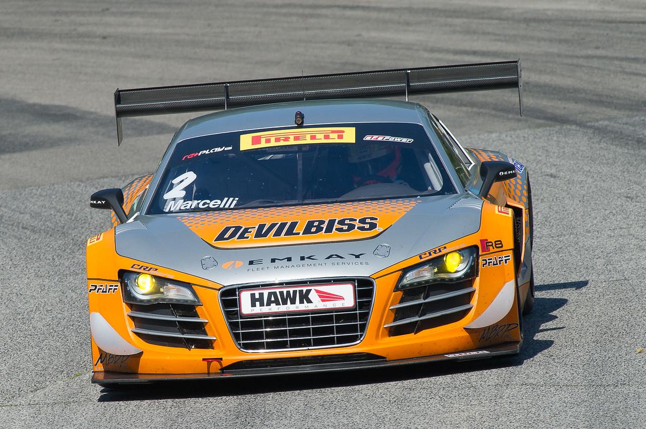 Kyle Marcelli  CRP Racing Audi R8 LMS GT3