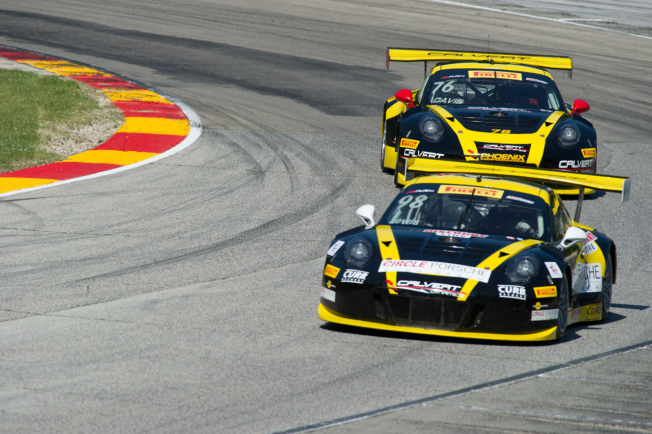 Michael Lewis Calvert Dynamics/CurbAgajanian Porsche 911 GT3R