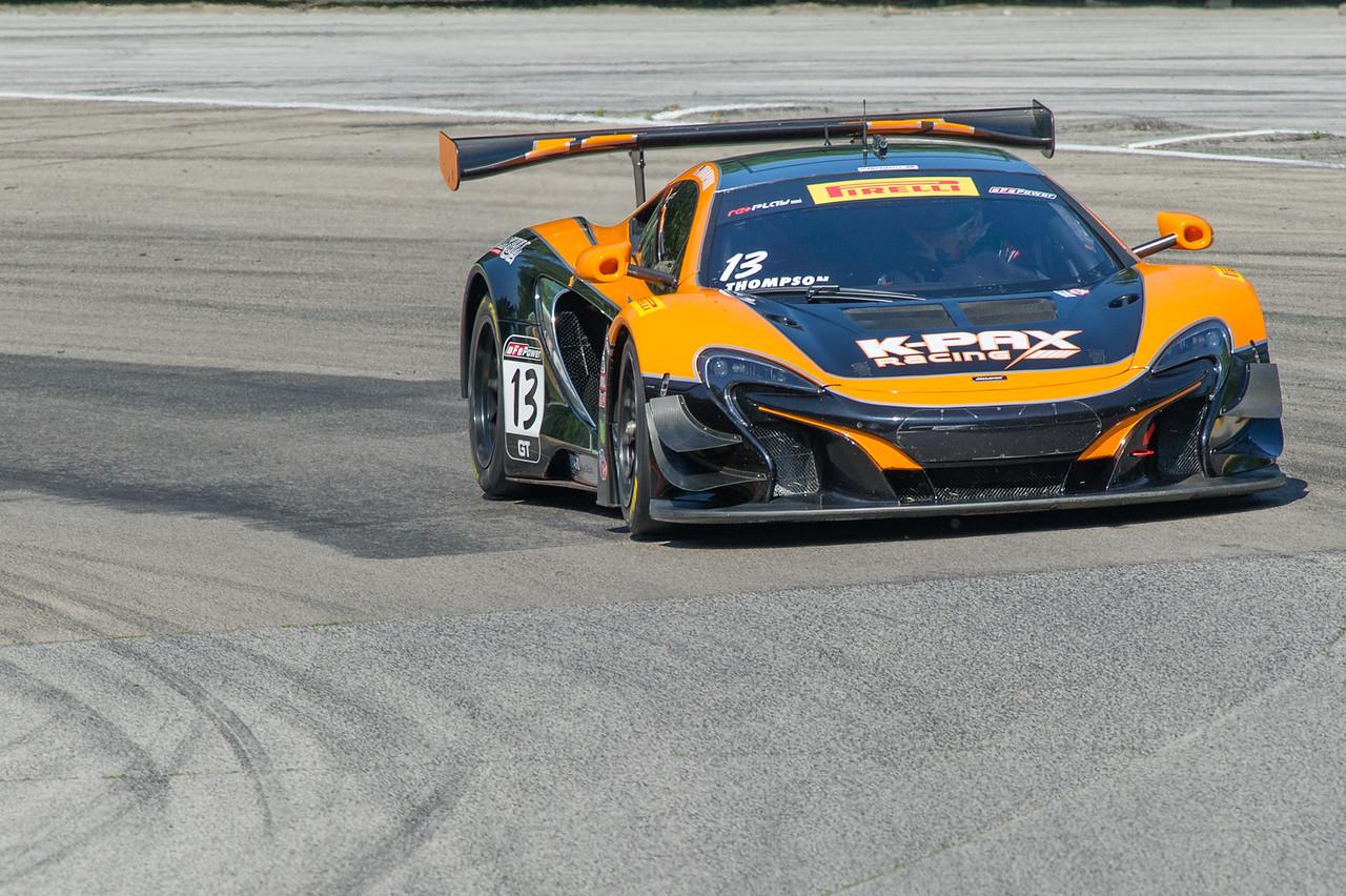 Colin Thompson K-PAX Racing McLaren 650S GT3