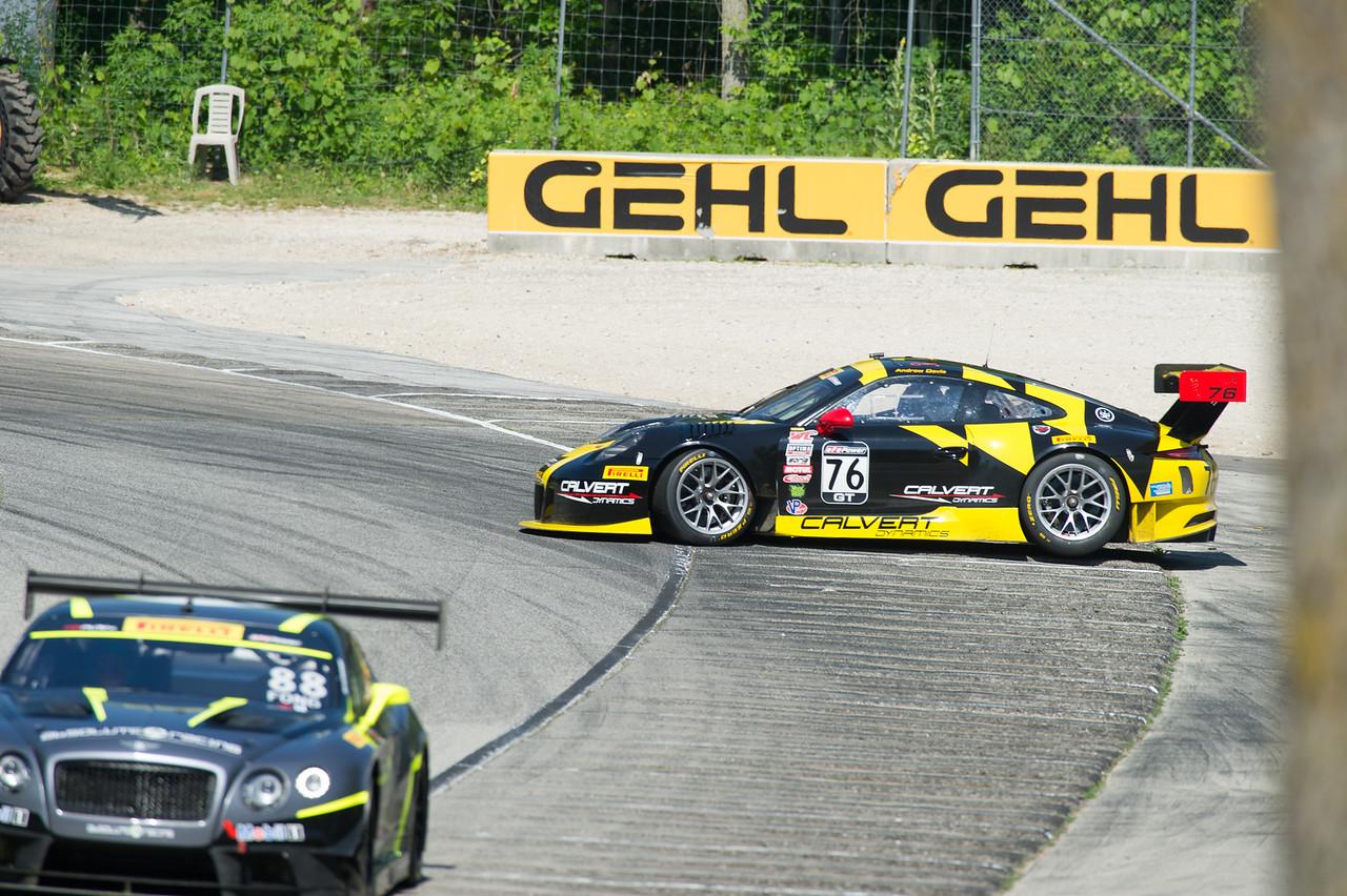 Andrew Davis  Calvert Dynamics Porsche 911 GT3-R